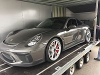 Porsche 991 GT3 Facelift Shifter loaded for Export to Japan
