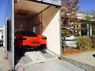 Ferrari 488 GTB export to UAE